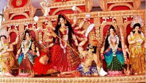 বিজয়া দশমী: মর্ত্য ছেড়ে বিদায় নিবেন দেবী দূর্গা