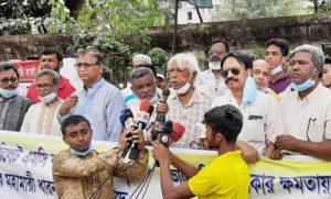 মৃত্যুদণ্ডের আইন নয়, সরকারের পদত্যাগই আন্দোলন থামবে: জাফরুল্লাহ