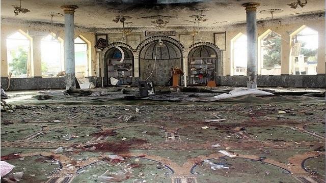 আফগানিস্তানে মসজিদে বোমা বিস্ফোরণে নিহত ৩২